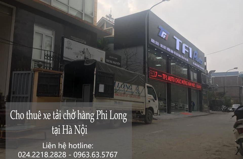 Dịch vụ xe tải phố Vọng Hà đi Hòa Bình