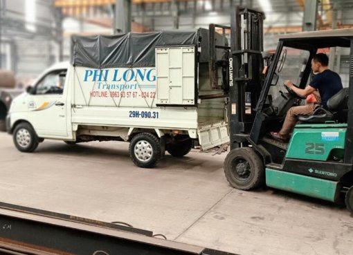 Xe tải vận chuyển phố Hàng Bạc đi Hòa Bình