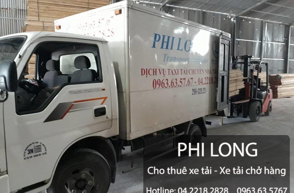 Taxi tải giá rẻ tại huyện Ba Vì