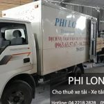 Dịch vụ xe tải chở hàng thuê tại huyện Phúc Thọ