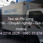 Dịch vụ xe tải chở hàng thuê tại huyện Ứng Hòa