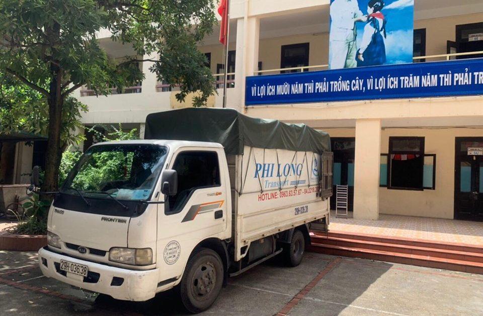 Dịch vụ xe tải phố Nguyễn Văn Tố đi Hòa Bình